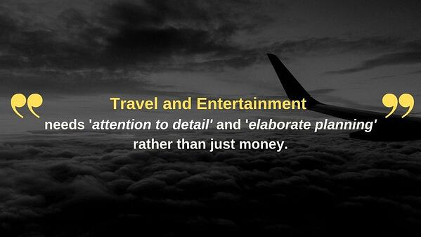 Travel and Entertainment