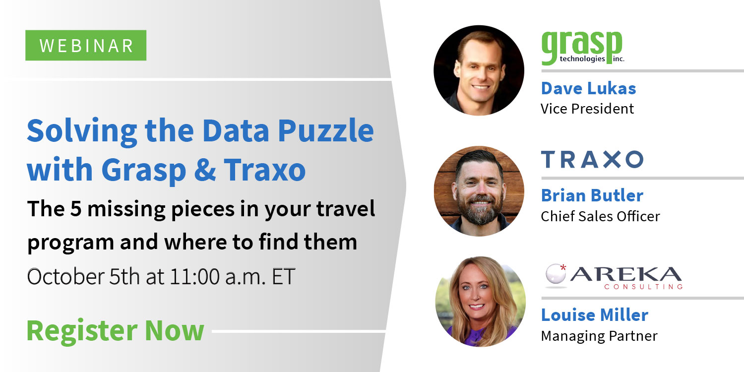 [Webinar] October 5: Solving The Data Puzzle With Grasp And Traxo